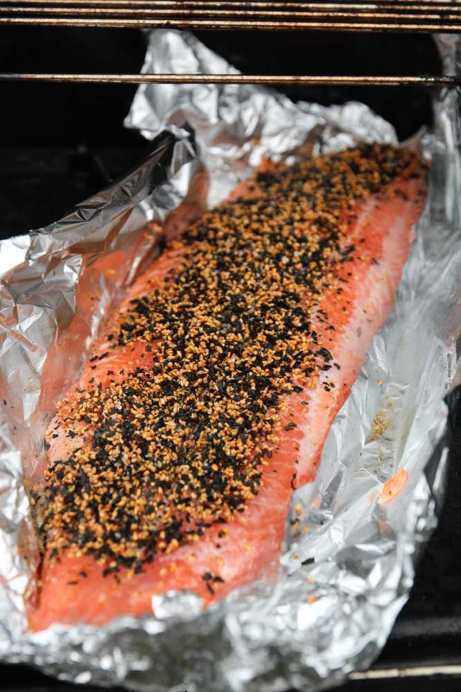 How to BBQ Salmon with Pickled Ginger and Sesame | My Kitchen Stories