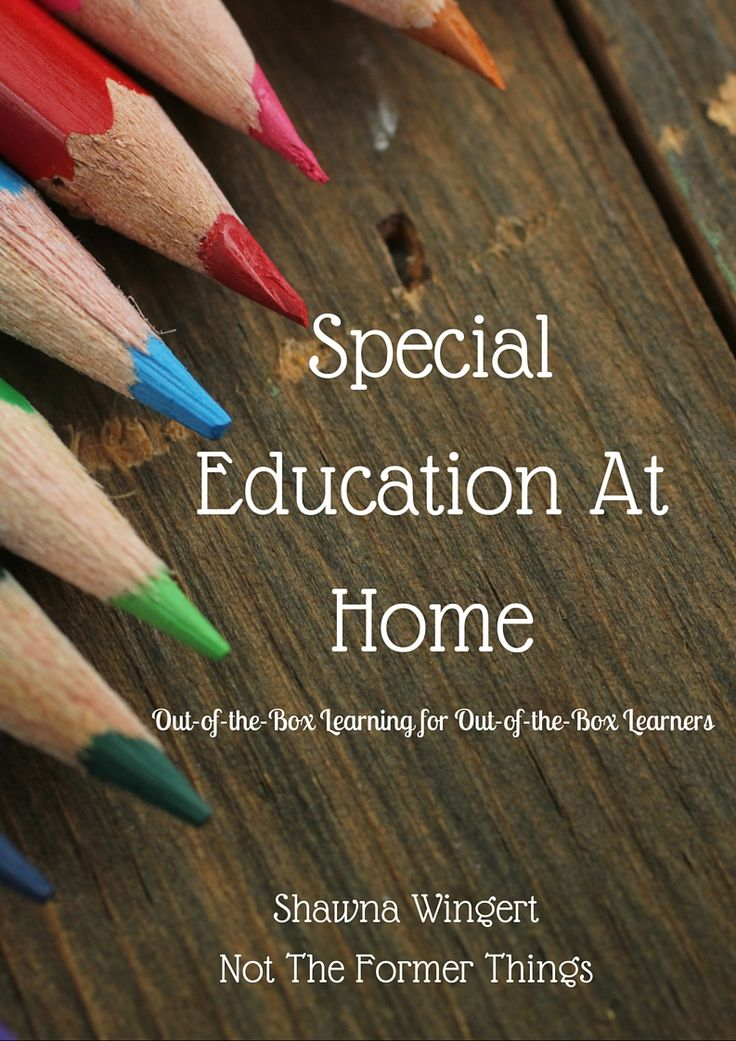 Special Education At Home (my new book is here!!!)