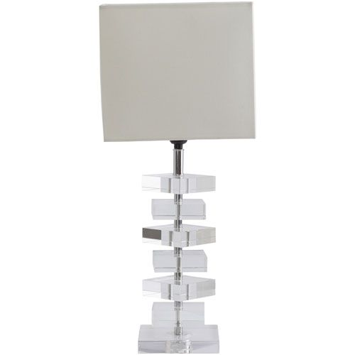 Epic Gigi Clear One Light Table Lamp