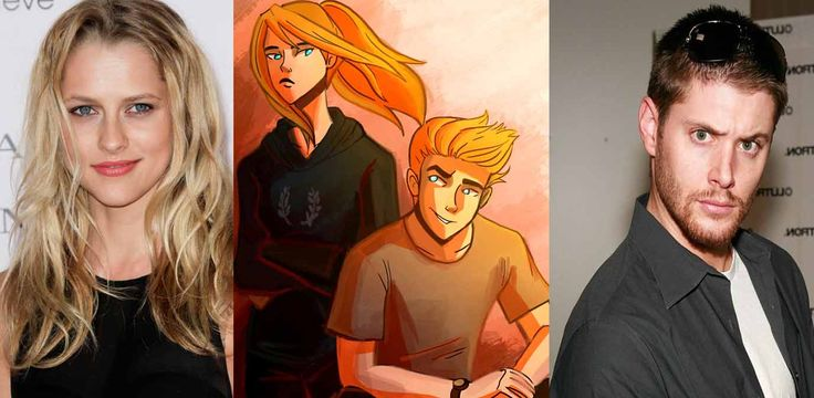 Teresa Palmer (not kristen stewart) & Jensen Ackles as Artemis & Apollo I know in the book their younger specially Artemis. This two are perfect to portray the twins