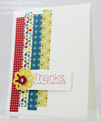 Cute for washi tape too!  Just love the card design!