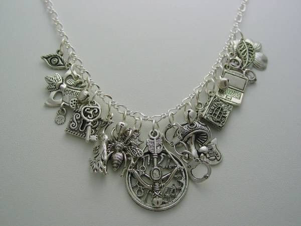 Warehouse 13 Claudia Donovan Funky Charm Necklace