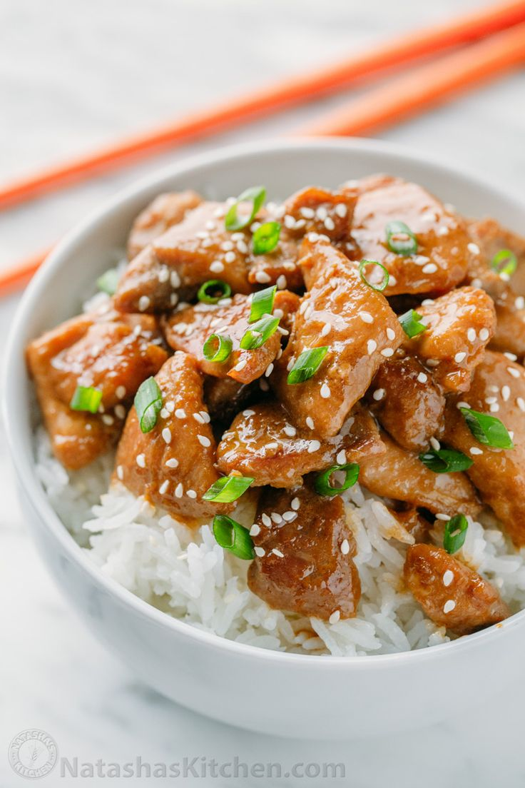 This Easy Teriyaki Chicken Recipe tastes better than takeout. Teriyaki Chicken is a quick and simple dinner. Serve it over buttery rice with broccoli. Yum!