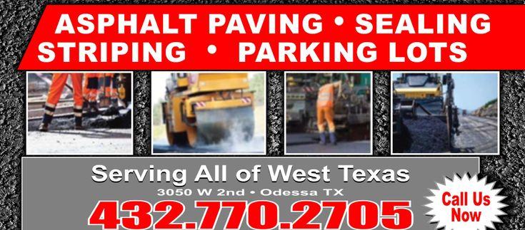Paving Pro - Asphalt Paving Company and Sealcoat in Odessa & Midland, TX