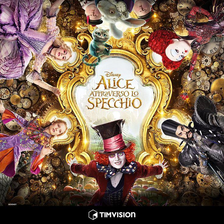 #AliceAttraversoLoSpecchio #Disney #cartoon #film #CappellaioMatto