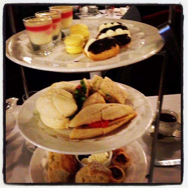 High Tea at the Carrington Hotel:-)
