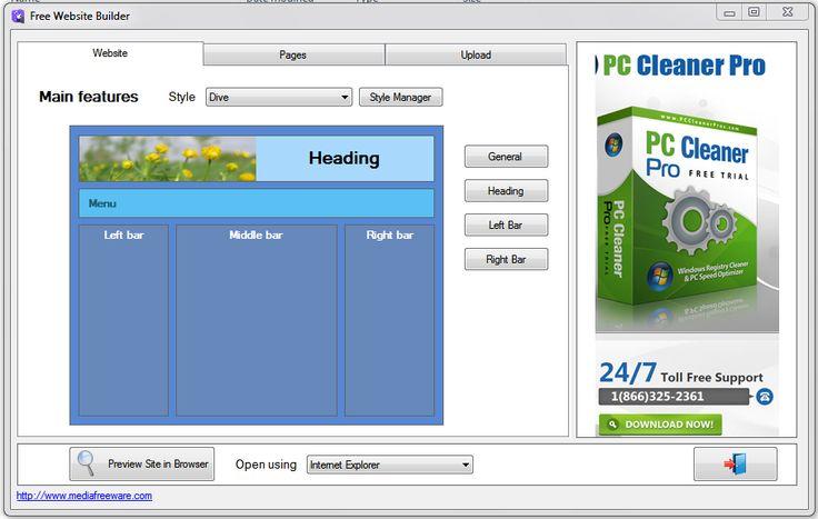 Descargar gratis Free Website Builder: Creador de páginas web sin conocimientos de HTML | Banana-Soft.com