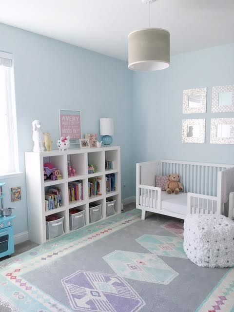 Blue Girl S Room Benjamin Moore Polar Ice 1660