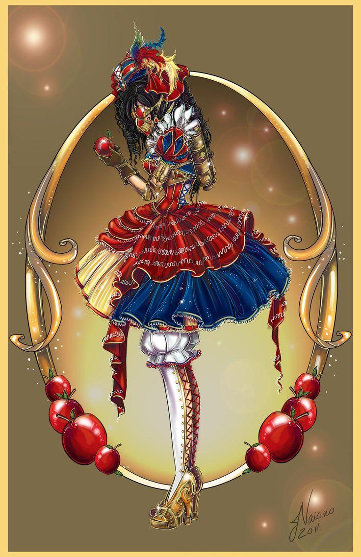 Steampunk Snow White by NoFlutter.deviantart.com on @deviantART I officially love #NoFlutter - Deviant Art