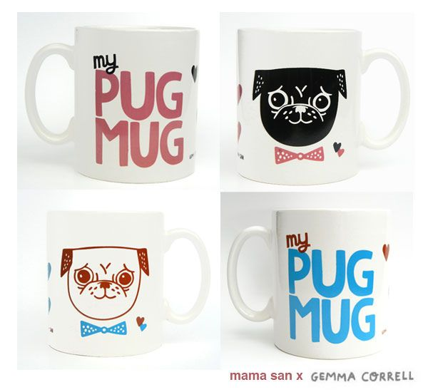 Gemma Correll - Pug Mug