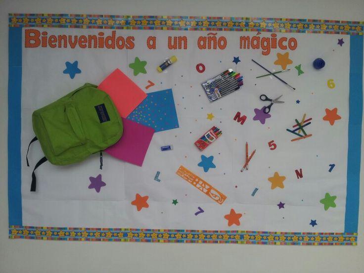 inicio de clases 2013-2014: Murales Escolares Ideas, Decoración De