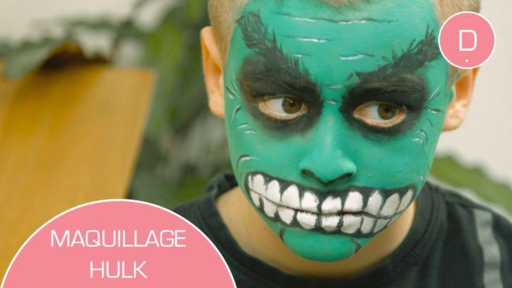 Pour un anniversaire, le carnaval ou halloween, c'est le maquillage à tester ! Transformez votre enfant en Hulk avec le tuto bien pratique de Charlotte du Co...