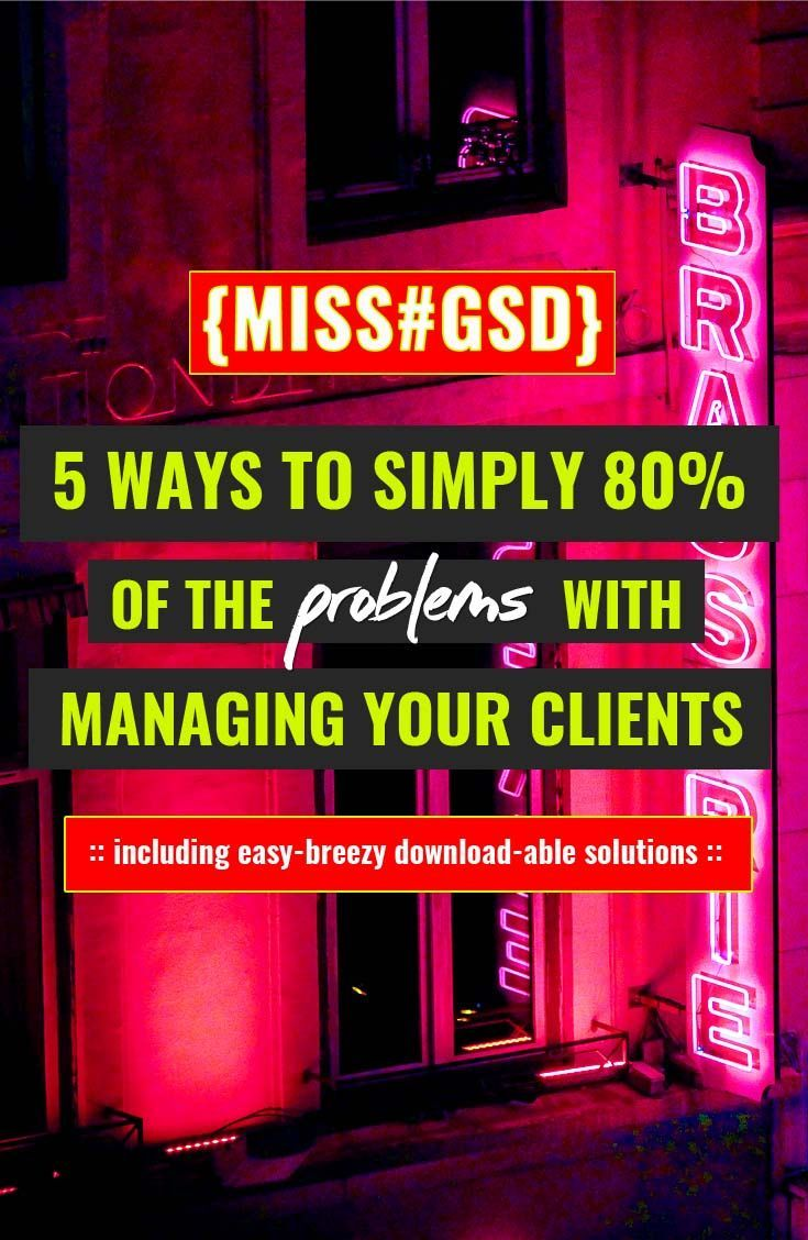 Like anything else, the 80/20 rule applies to freelancing. From scope creep to workflows to technology, we look at 5 ways to kick 80% of your problems to the curb. Whether that's making your client happy, managing their expectations, or not losing your damned mind every time you sign a new lead.
