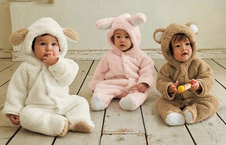 Cutest infant snowsuits!