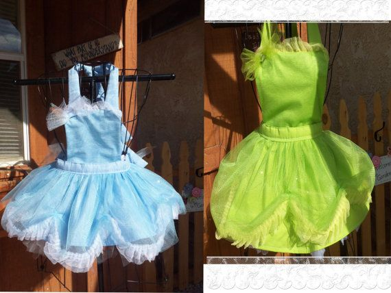 TinkerBell and Sister Periwinkle Aprons sold by Josettesaprons, $80.00