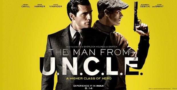 'The Man From U.N.C.L.E.' Comic-Con Extended Trailer!! Suave, Cool & Badass!! — eastcoastmovieguys.com