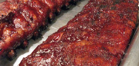 """De spareribs bij de chinees smaken altijd geweldig. Dit is """"een"""" interpretatie van Chinese spare ribs"""