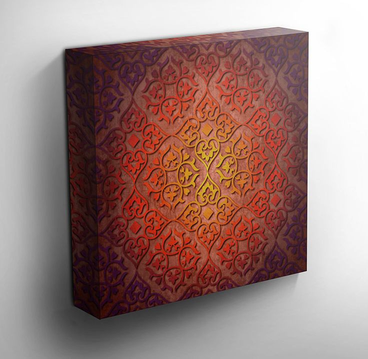 Canvas Wall Art Prints - Moroccan delight - X & The 29 best Moroccan inspired images on Pinterest | Wall stenciling ...