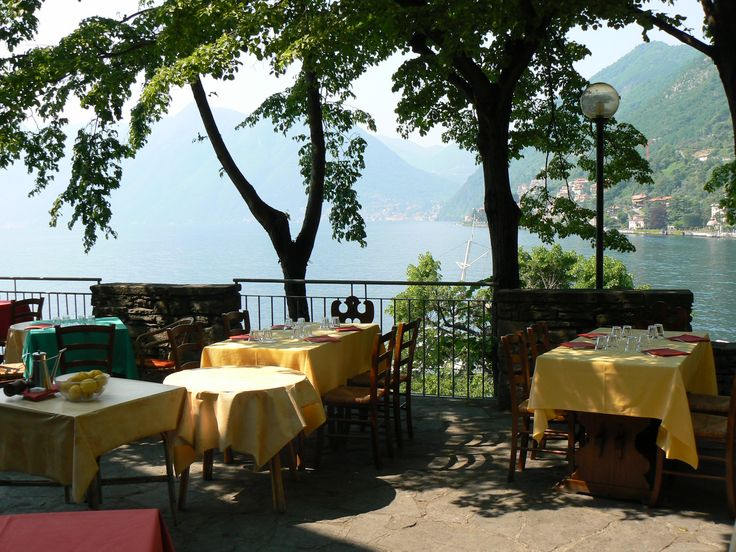 Locanda dell'Isola Comacina....restaurant on island at lake Como....one of the best meals ever!  Memorable experience!