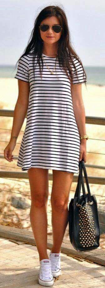 Vestido corto perfecto para día casual