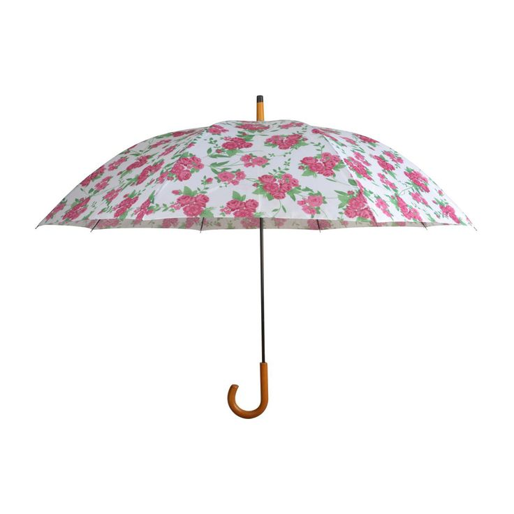 Let the rain and compliments pour with the Lovers Bloom Umbrella. A classic design is given a charming, modern update with a rose print, perfect for reminding us that our garden's bloom after a good ra...  Find the Lovers Bloom Umbrella, as seen in the Accessories Collection at http://dotandbo.com/category/outdoor/accessories?utm_source=pinterest&utm_medium=organic&db_sku=103250