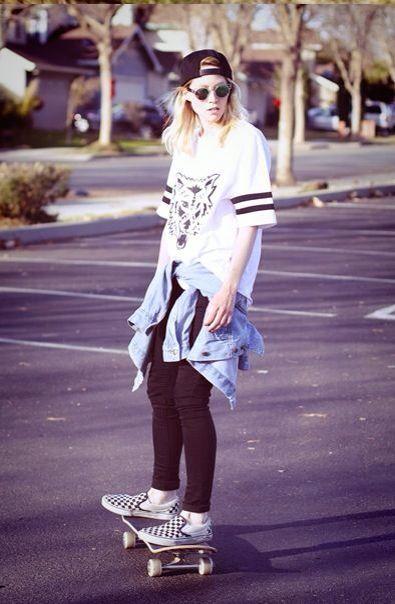 Skate girl #ss14 ttp://somethingintheway5.blogspot.com.es