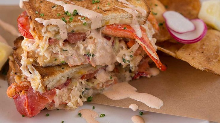 Saffron Lobster Tea Sandwiches Recipe — Dishmaps