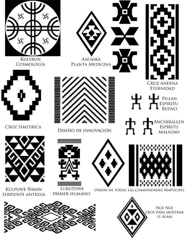 Símbolos Mapuches                                                                                                                                                                                 Más