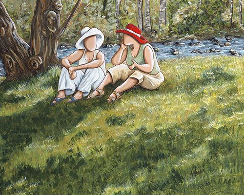 Kathy Meaney's Ladies of the Lake series: The Women's Art Museum Society of Canada online exhibit, 2014