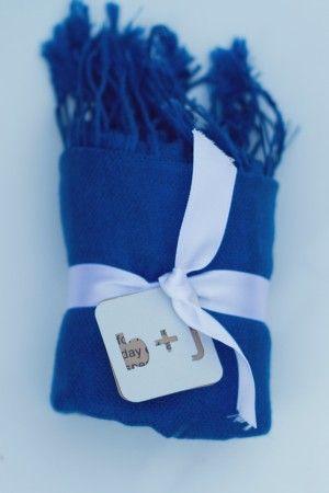 Pashmina wedding favor | photography http://www.closertolovephotography.com/Die Cut, Wedding Favors, Blue Pashmina, Blue Shawl, Beautiful Paper, Paper Tags, Wedding Stationery, Favors Ideas, Something Blue