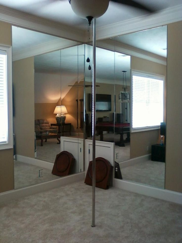 "Dancing pole with mirrors for those really crazy party nights when Aunt ""____"" has a little to much to drink & has the need to dance on a pole!"