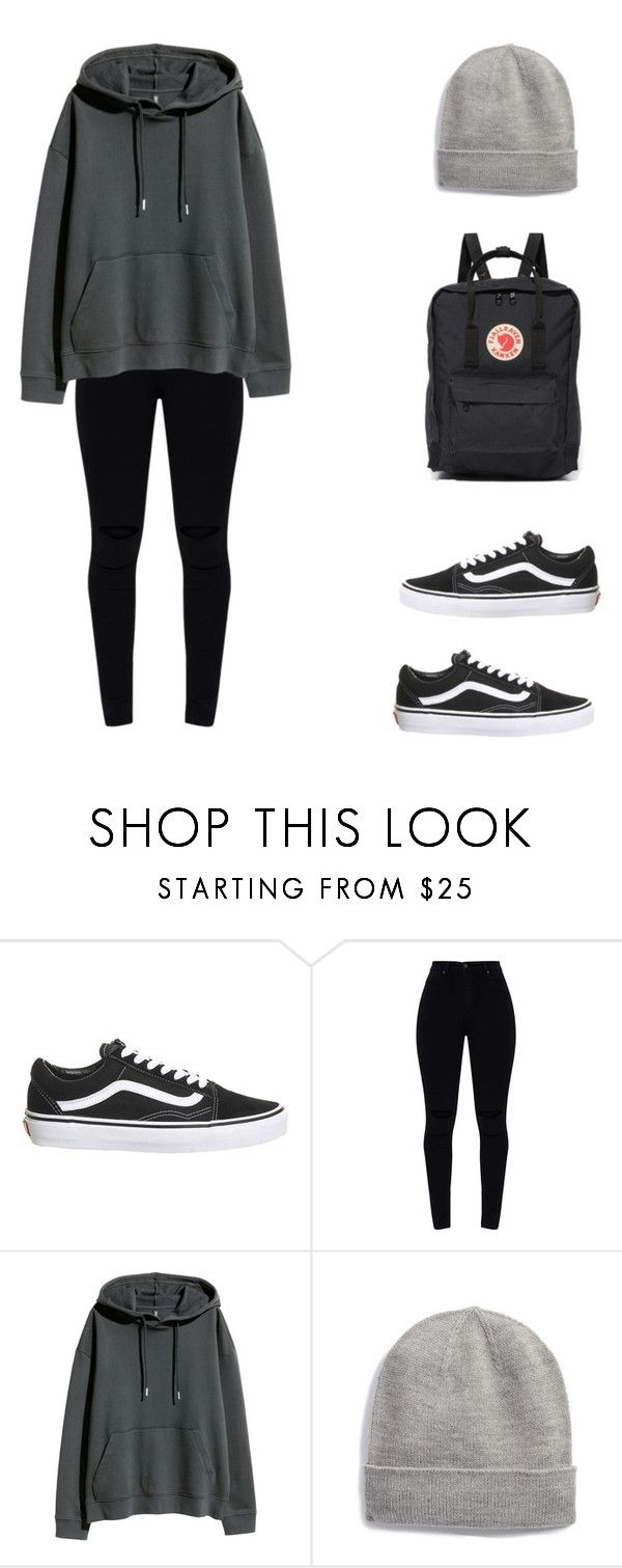 """Untitled #424"" by liz-lite on Polyvore featuring Topshop, H&M, Kate Spade and Fjällräven"