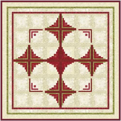 1000+ Images About Log Cabin Quilts On Pinterest