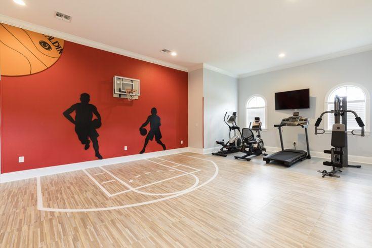 Indoor Basketball Florida Rentals Arcade Themed Room Bedroom Themes