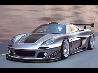 Porsche Carrera GT: 205 mph, 0-60 in 3.9 secs. Aluminum, 68 Degree, Water Cooled V10 Engine with 612 hp, base price is $440,000. The most powerful and most expensive Porsche  nearly made the list as #10.