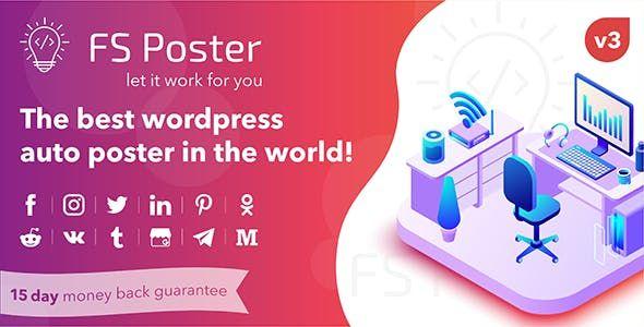 Fs Poster V3 2 2 Wordpress Auto Poster Amp Scheduler Opensource Linux Software Programming Coding Null88 Wordpress Plugins Instagram Challenge