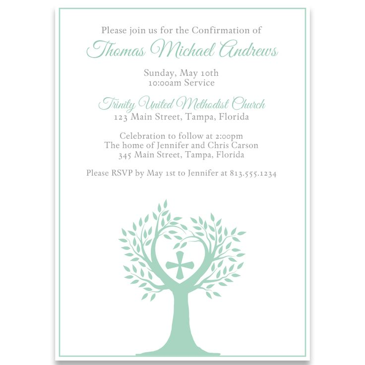 25 best Confirmation Party images – Confirmation Party Invitations