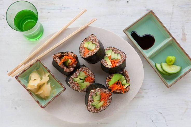 Quinoasushi met avocado - Recept - Allerhande