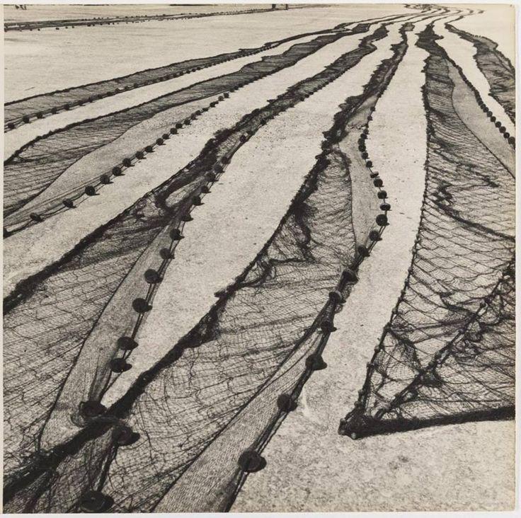 Sameer Makarius - 'Nets of Mar del Plata's Fishermen', 1956