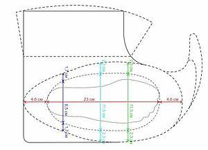 Построение выкройки для валяной обуви Перед тем как начать валять обувь, нам нужно построить выкройку. Расчеты я делала по своей ноге. Что нам нужно, так это снять мерки со стопы. Т.е. измеряем: окружность стопы в месте подъема, у меня получилось 23 см окружность стопы в месте где «косточка», 23 см окружность стопы в месте пятки, 17 см длина стопы, у меня 23 см Выносим эти измерения на нашу выкройку.