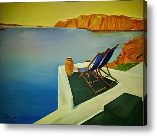 Simi Island Greece Acrylic Print By Lulzim Murati