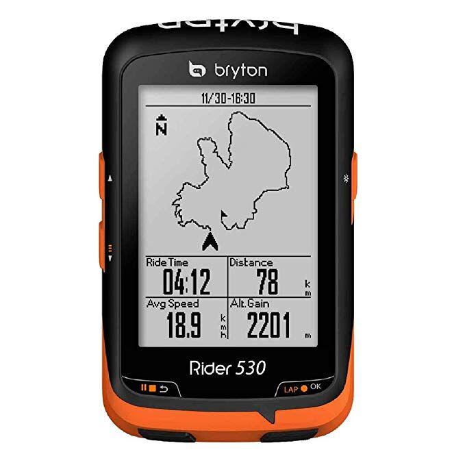 Bryton Rider 530 Gps Cycling Computer Review Cycling Computer