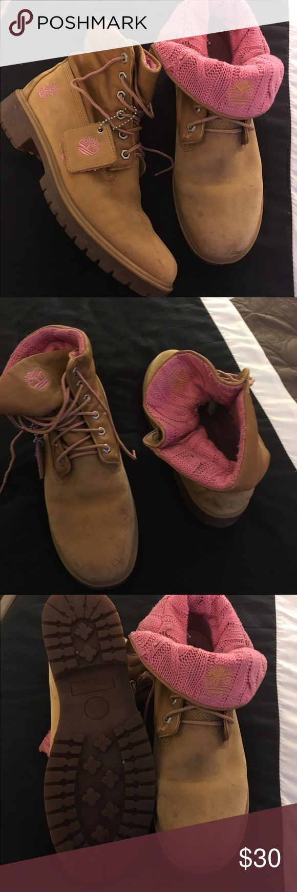 Timberland ❄️❄️❄️❄️💝💝 Beautiful timberland boots a little dirty but in perfect condition❄️❄️❄️❄️ Timberland Shoes Winter & Rain Boots