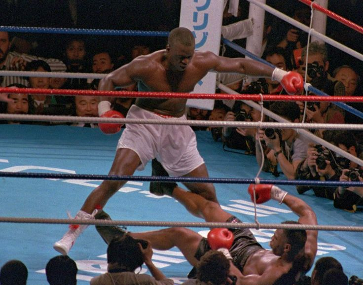 UPSET OF THE CENTURY: This Day In Boxing February 11, 1990 Buster Douglas KOs Mike Tyson. http://boxinghalloffame.com/?p=6468