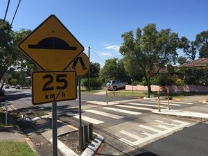 Image result for pedestrian signs nsw