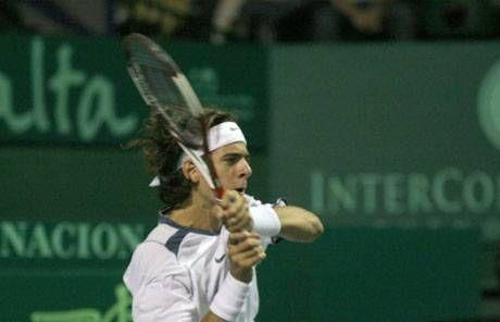 Del Potro: la gran promesa salió al ruedo  El futuro ya llegó: Juan Martín del Potro, otra esperanza del tenis argentino que quiere meterse en el circuito