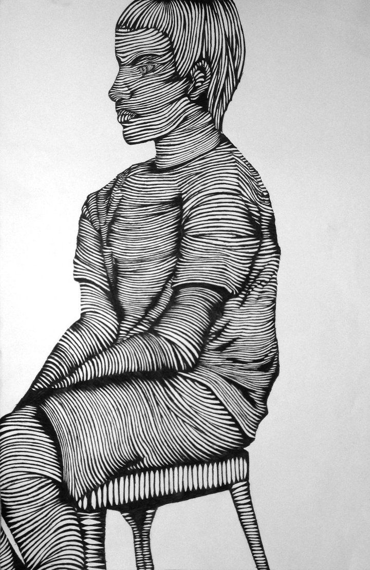Contour Line Drawing Ideas : Best cross contour line drawing ideas on pinterest