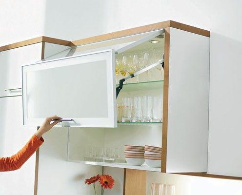 Bifold Upper Cabinet Kitchen Pinterest Storage Ideas