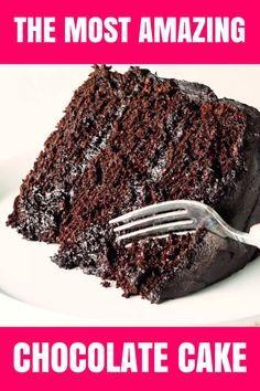 Der erstaunlichste Schokoladenkuchen ist hier. Ich nenne das meine Matilda Torte, weil ich …   – Food