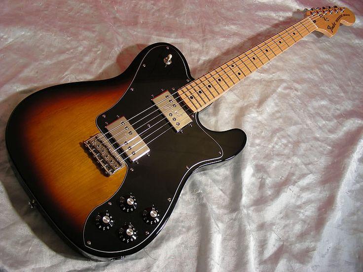 2005 Fender Telecaster Deluxe 72 Reissue.-Sunburst